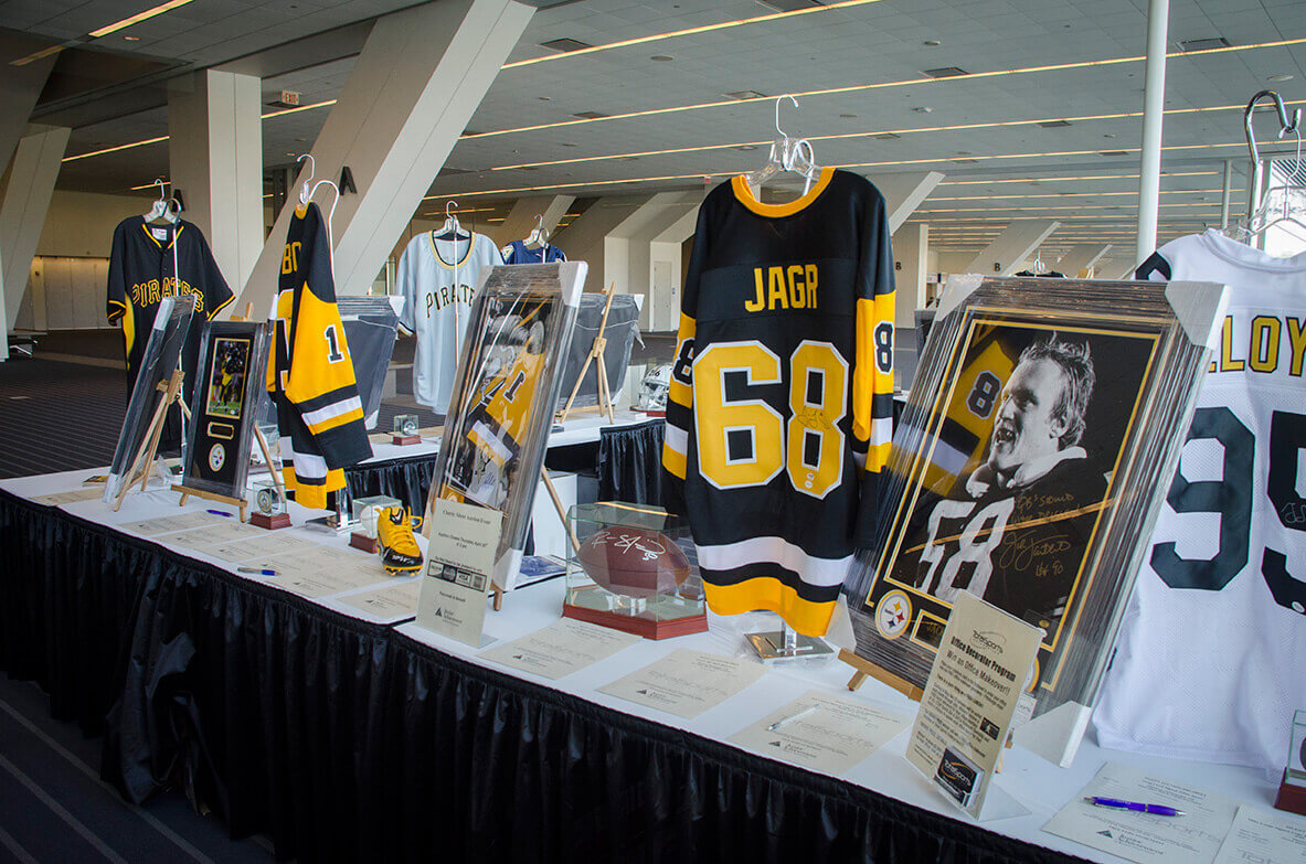 pittsburgh business show sports memorabilia