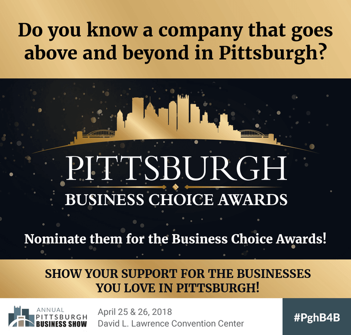 Pittsburgh Business Choice Awards